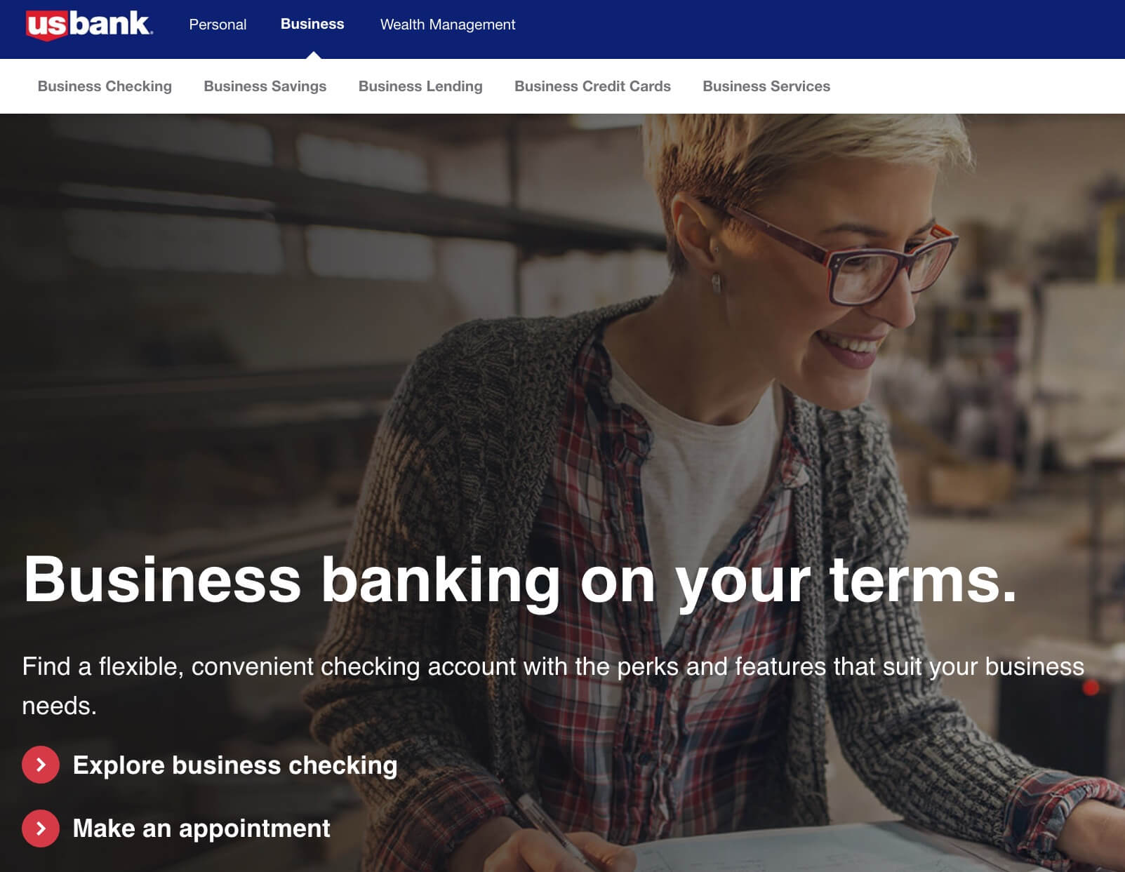 US Bank business banking