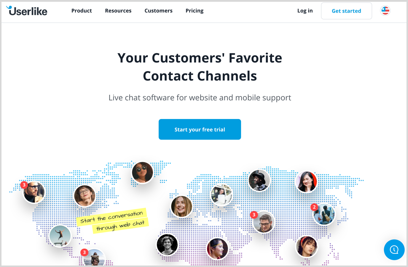 userlike homepage