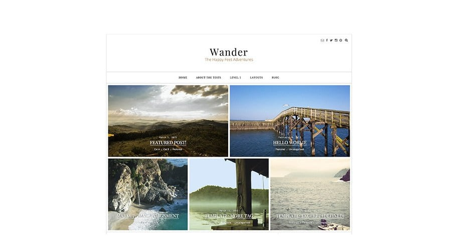 wander child-theme