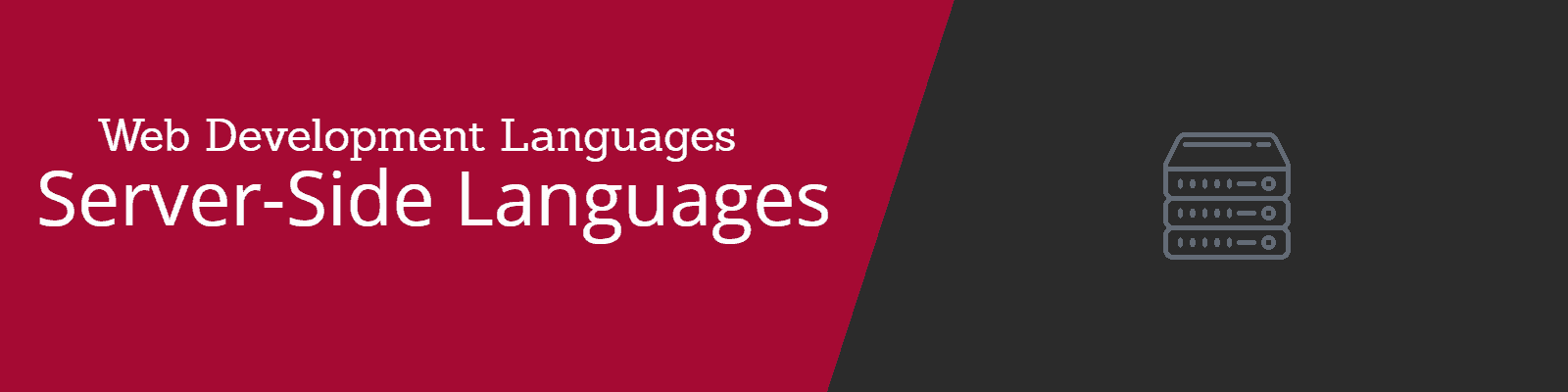 Programming and Web Development Server-Side Languages