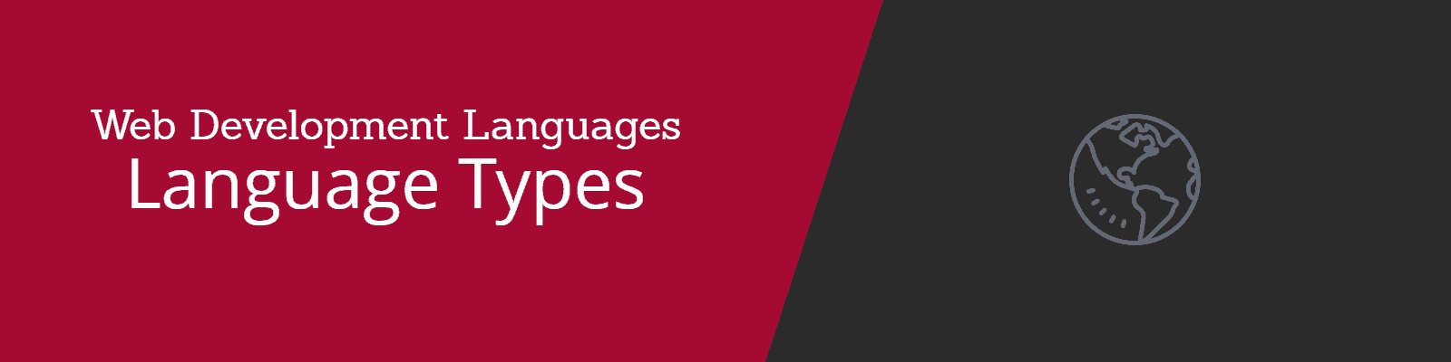 Programming and Web Development - Language Types
