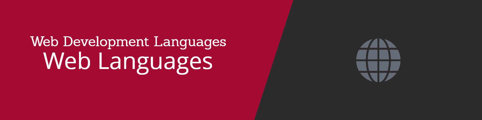 Programming and Web Development - Popular Web Languages