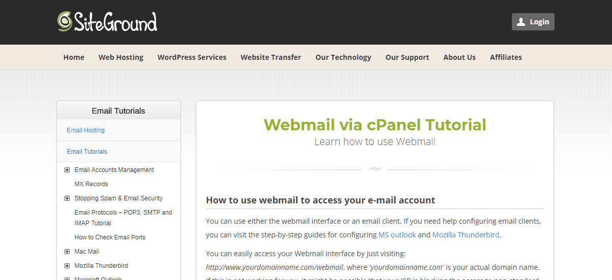 The Best Webmail Hosting: Who's The Best For Your Site? [Updated