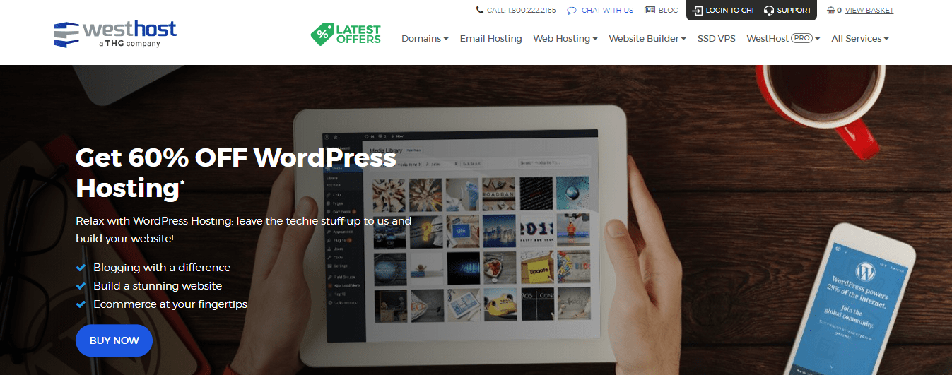 Westhost WordPress Hosting
