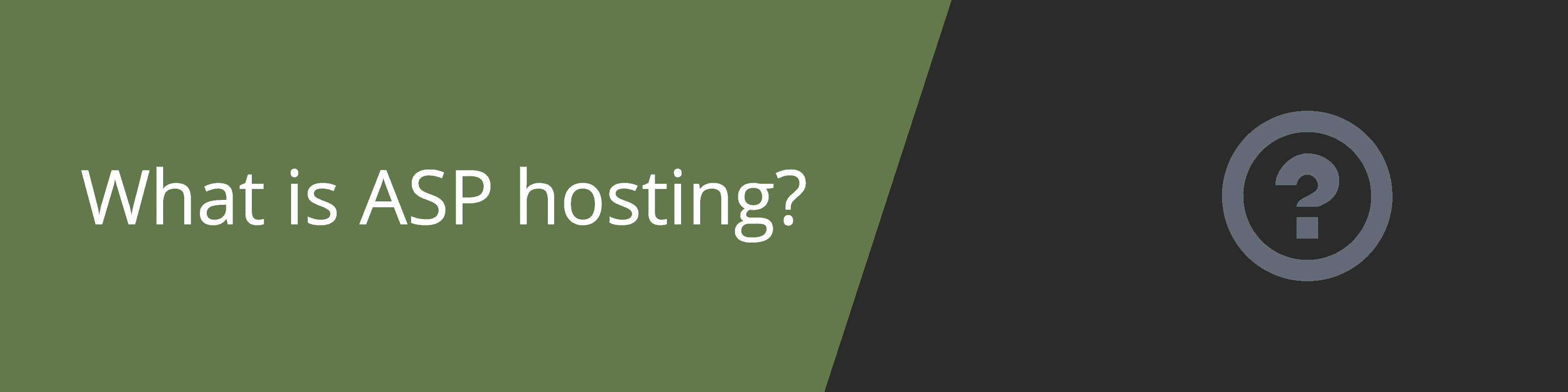 what is asp hosting