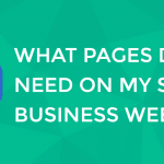 what pages do i need on my website