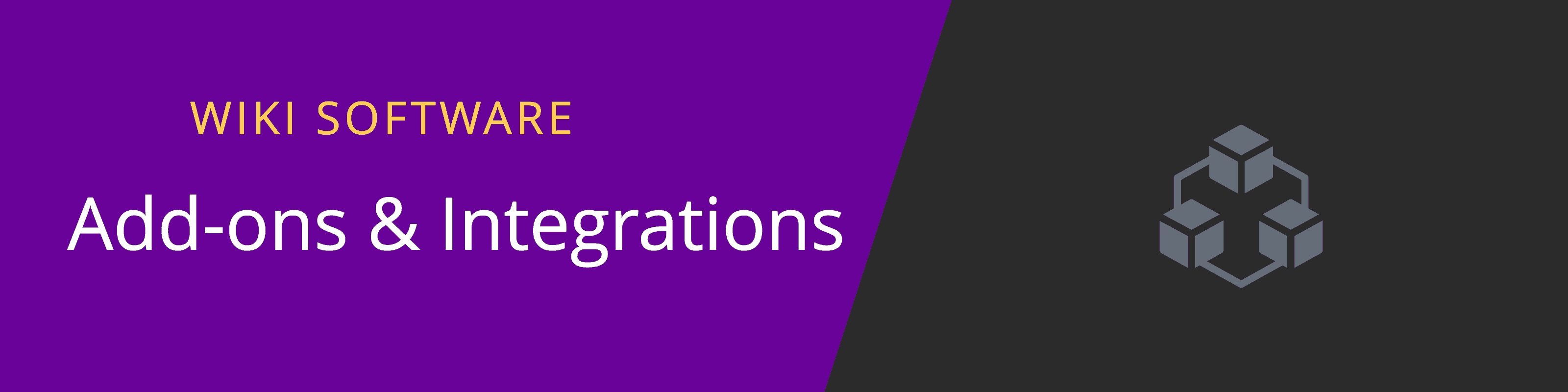 wiki addons and integrations