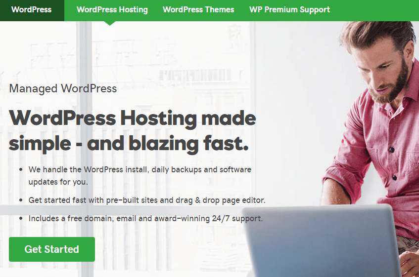 go-daddy-wordpress hosting