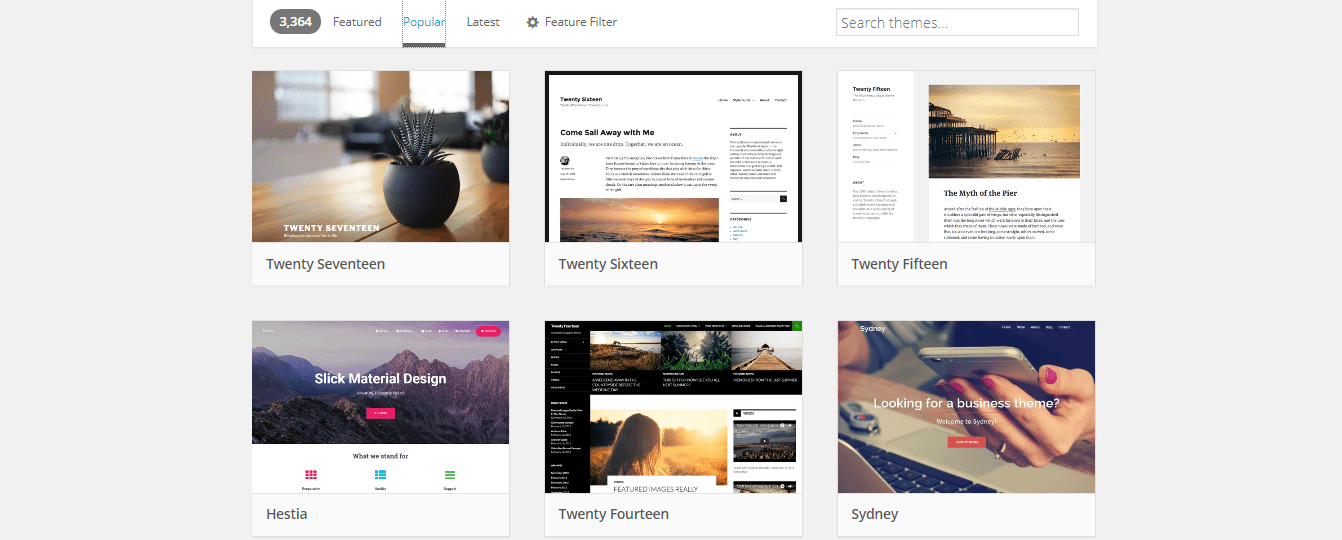 WWordPress Themes