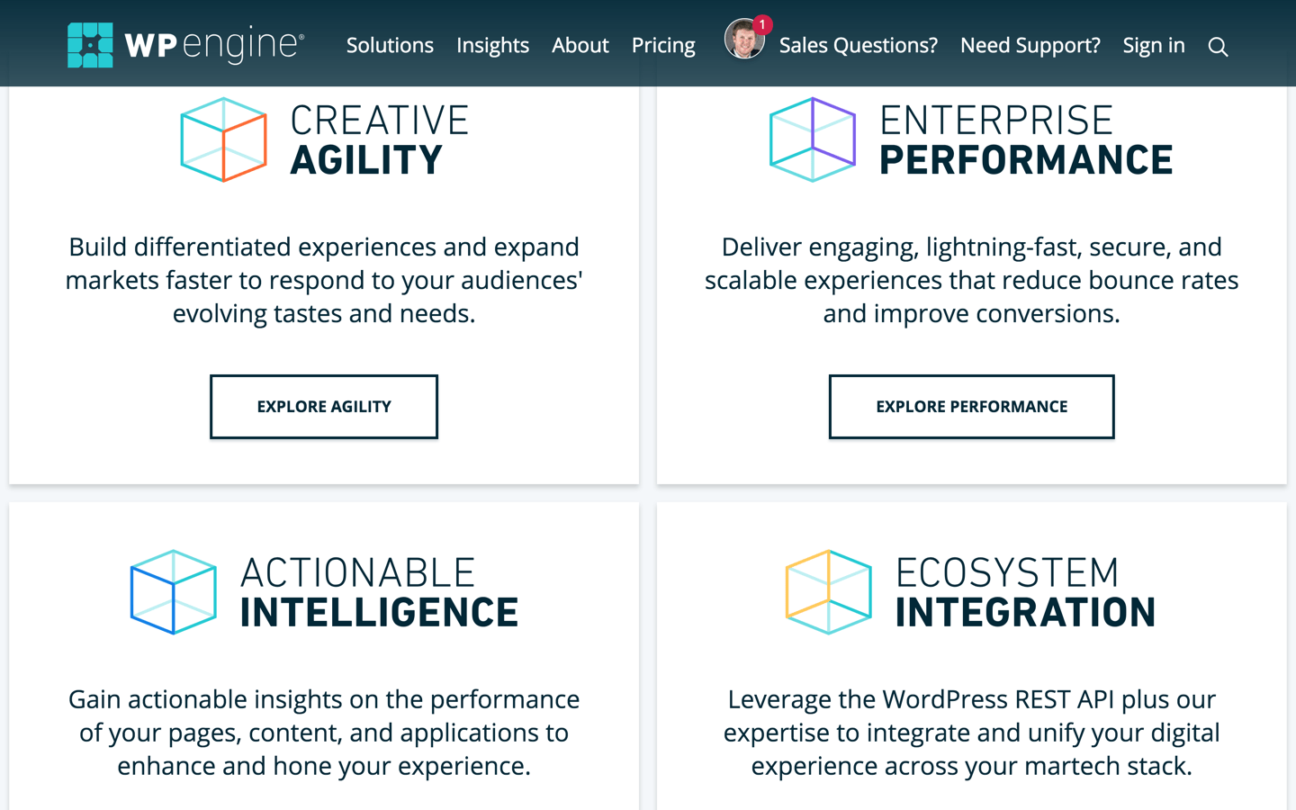 WP Engine offers specific business benefits