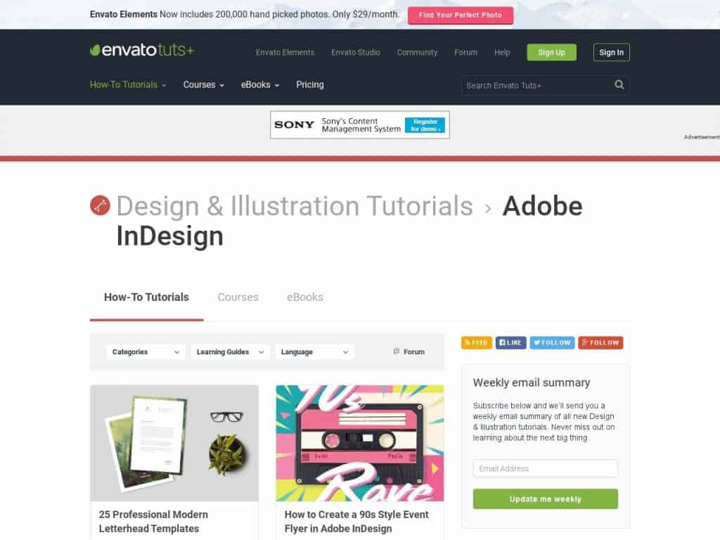 Learn InDesign By Breakfast With These Top Tutorials