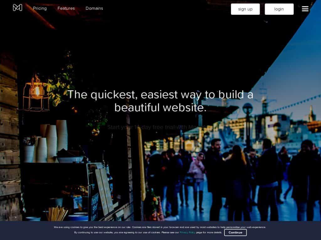 Moonfruit site builder review