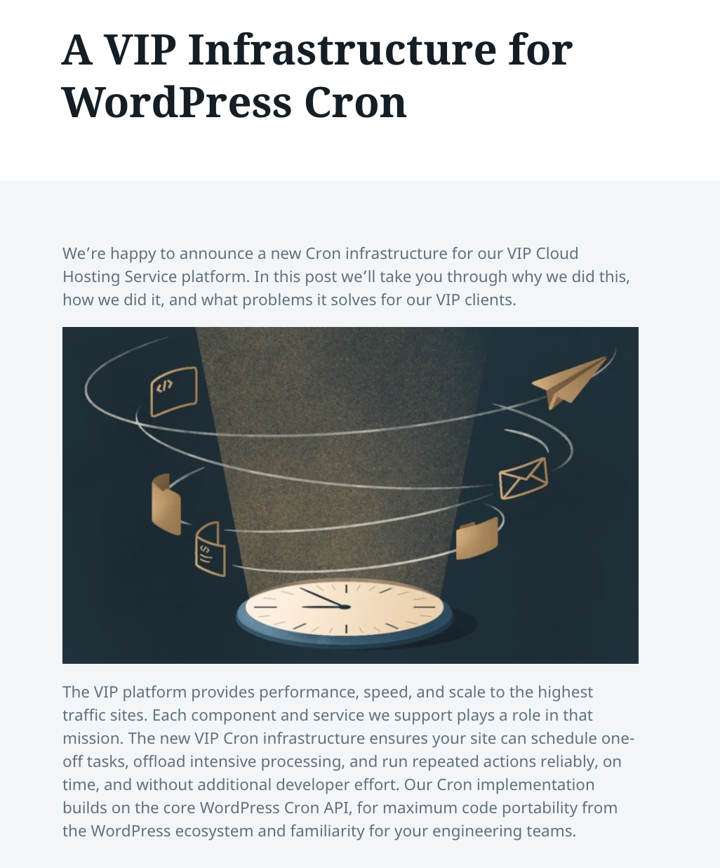wordpress vip cron