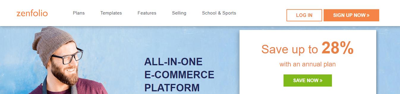 Zenfolio Homepage